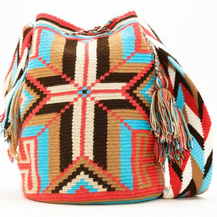 Cabo Wayuu Mochila | WAYUU TRIBE | Handmade Bohemian Bags