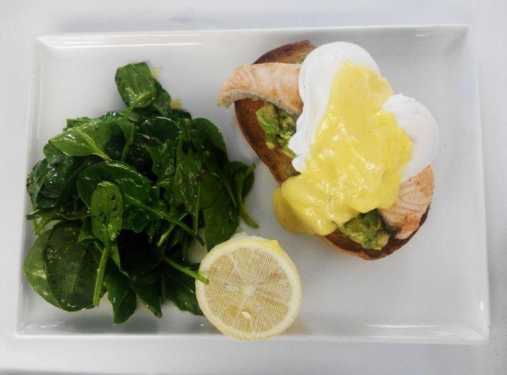 #EggsBenedict with #Salmon