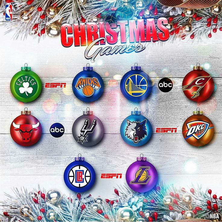 On Christmas we will see Boston take on New York in a divisional matchup. Golden State will travel to Cleveland for a NBA Final's matchup. Chicago will travel to San Antonio for a game. We will see the Russell Westbrook led Thunder take on the young bunch in the Timberwolves. Ending the night we will see a fight for Staples will arena-mates Clippers and Lakers face off.