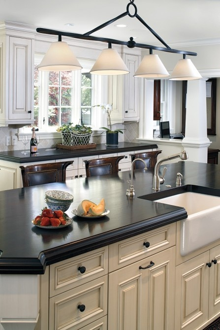 Kitchen by architectural kitchens photography by greg for Beautiful custom kitchen cabinets