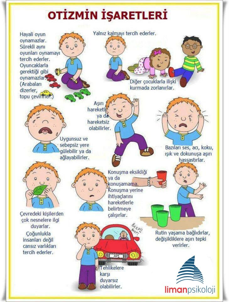 otizmin işaretleri #otizm #psikoloji #limanpsikoloji