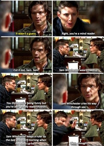I loved this part of the episode as well. <-- what d'you mean 'as well'? I love the entire episode