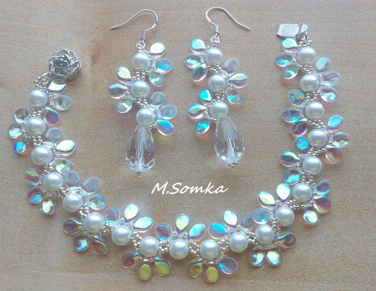 My Design With Preciosa Pip Beads Bead Patterns