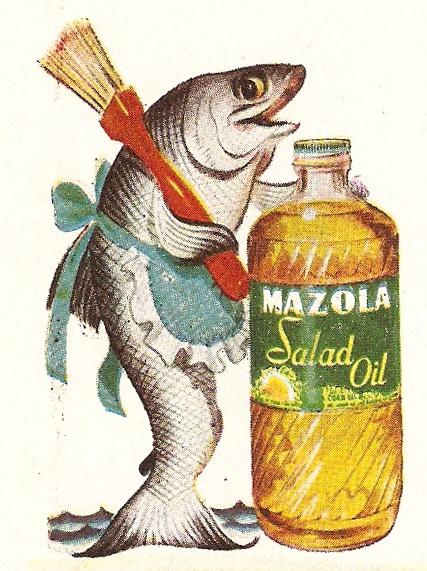 Mazola Salad Oil.