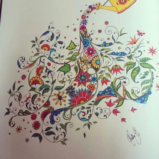 Coloring book...secret garden