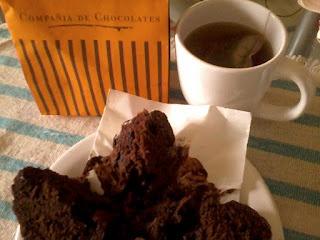 Delícia da COMPAÑIA DE CHOCOLATE em Buenos Aires Market http://oopiodacoruja.blogspot.com.ar/2012/08/buenos-aires-market.html