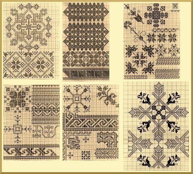 El blog de Dmc: Labores tradicionales españolas: el bordado segoviano