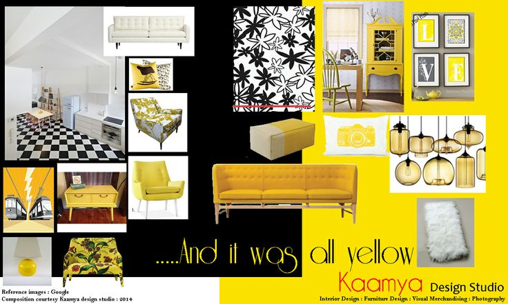 Modern Vintage...dare to be yellow!!!