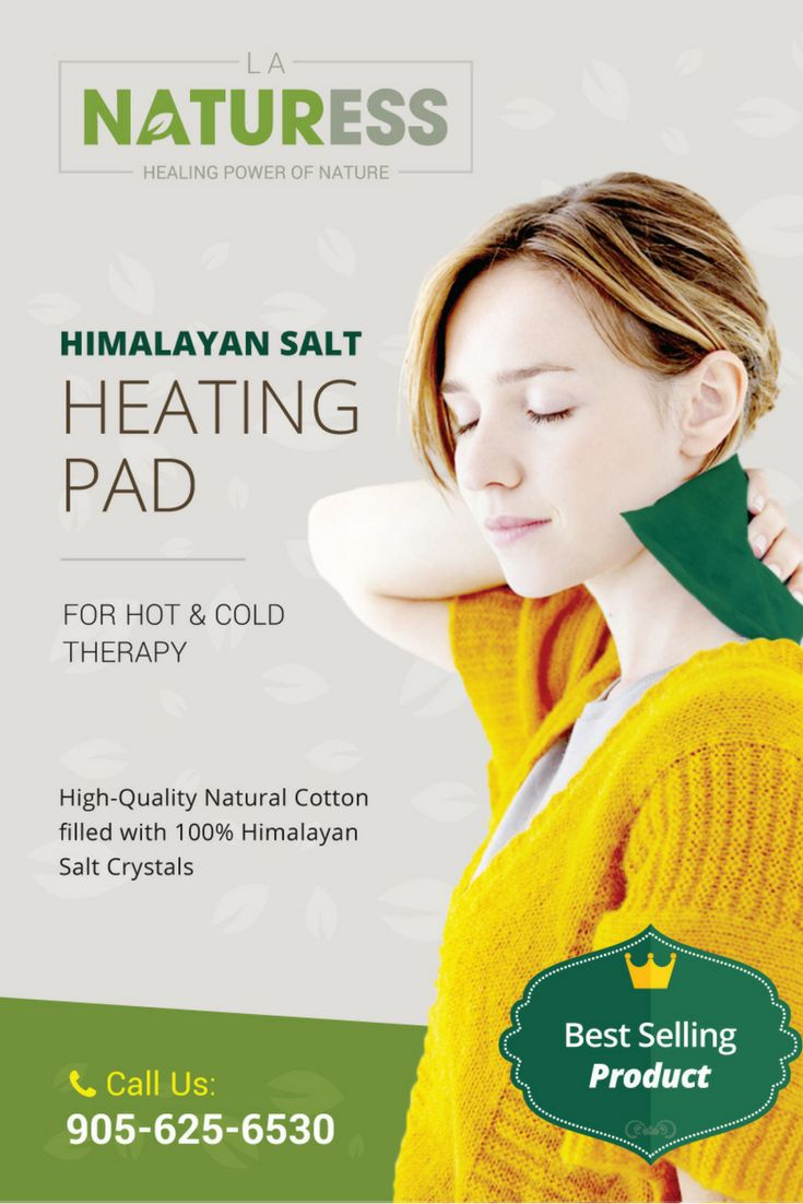 The Himalayan salt heating pad is used for hot and cold therapy to relieve muscle pain, lower back pain, arthritis, should and knee pain. The heating pad is filled with 100% natural pink salt crystals which keeps the heat for longer and  is microwavable.