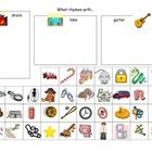 What rhymes with... Cat Dig Plan Shock  Students will cut out pictures of things that rhyme with each of these 4 words, and paste them in the boxes...