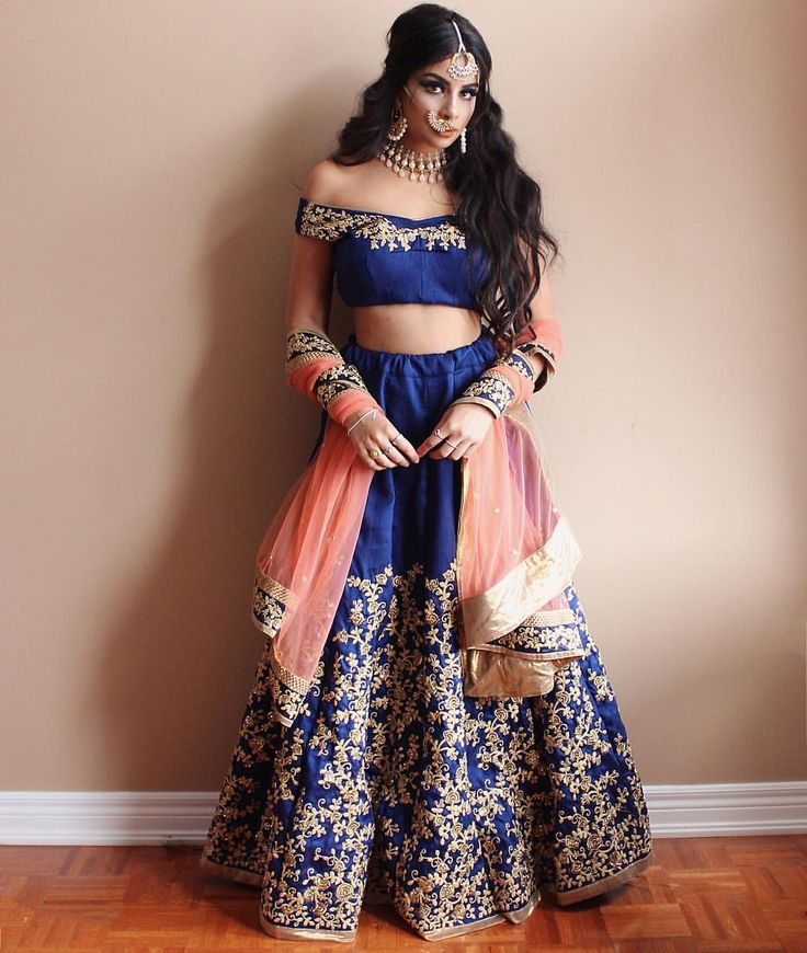 "8,504 Likes, 118 Comments - Ankita (@aankita.b) on Instagram: "" @reeshma_london with this impeccable lehenga set """