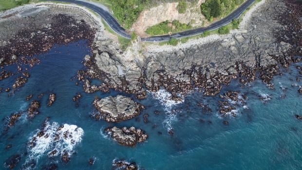 The seabed has lifted in part of Kaikoura following the earthquake