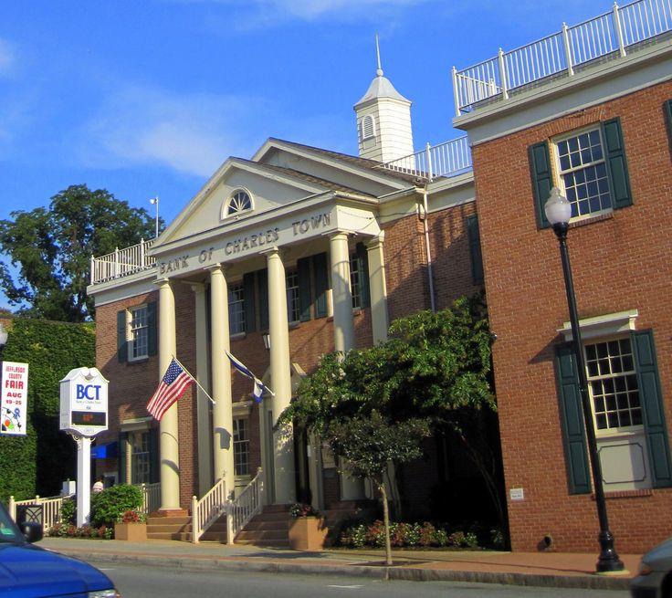 The Bank of Charles Town on Washington Street--the main street thoroughfare. Taken by author Sarah McCoy.