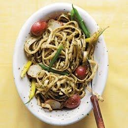 Trenette al Pesto Pesto pasta green beans and potatoes