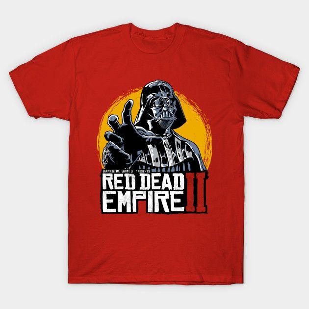 5ef3cb0954 Red Dead Empire - Darth Vader T-Shirt
