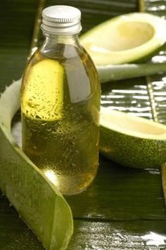 Avocado Oil - As discussed under health benefits, the primary benefits of avocado oil for skin is its role as a catalyst, encouraging the body to produce higher levels of collagen. This results in wrinkle-free, youthfully elastic skin that comes from within. As a natural lubricant and moisturizer, avocado oil, when externally applied to skin, gives a soothing, moisturizing effect to dry skin. The omega 3 fatty acid content makes skin glow when avocado oil is used for massage purposes.
