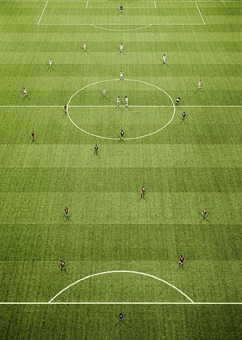 Em Arena II by Andreas Gursky