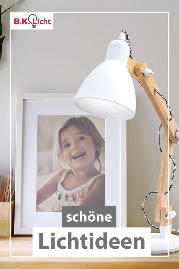 LED Schreib Tisch Lampe schwarz gold Arbeits Zimmer Lese Leuchte verstellbar