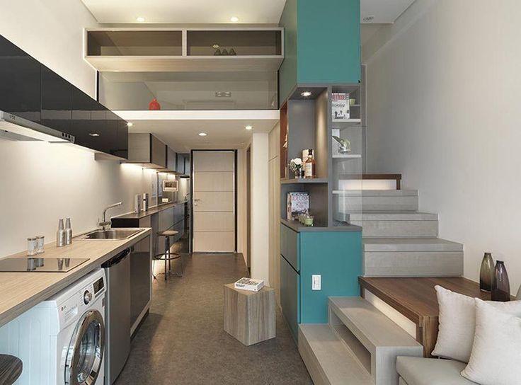 46 melhores imagens de arq lofts no pinterest for Como decorar interiores de casas pequenas