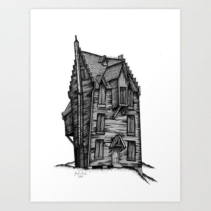 Harry Potter Shrieking Shack Draw Cerca Con Google Harry Potter Drawings Small Drawings Harry Potter Fantastic Beasts