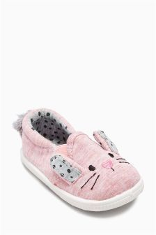 Bunny Pram Shoes (Younger Girls)
