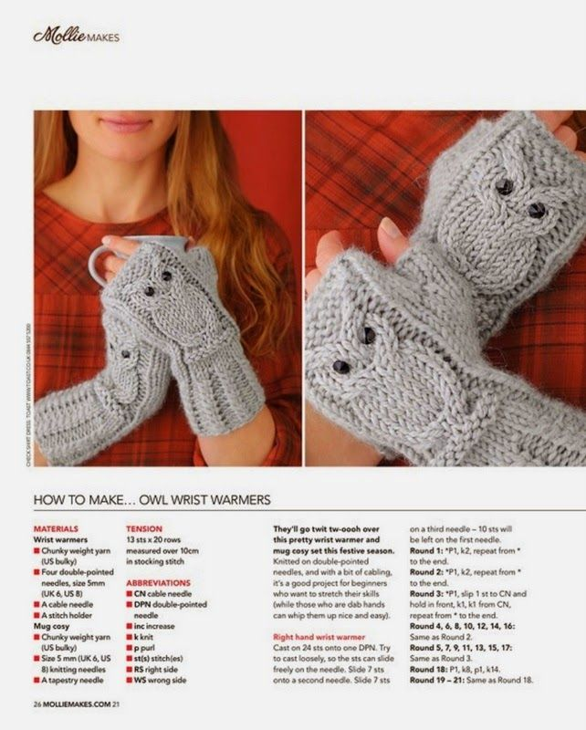 Knitted Hand Warmers Free Patterns : Best 25+ Wrist warmers ideas on Pinterest Crochet hand warmers, Fingerless ...