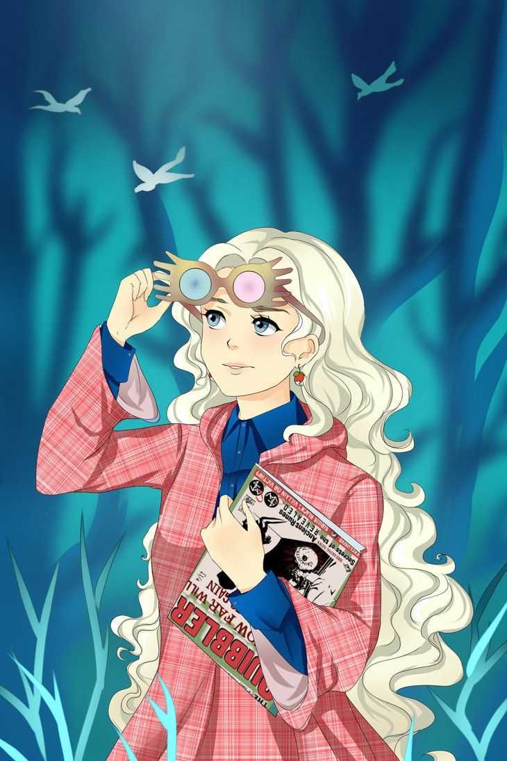 Luna Lovegood Harry Potter By Annmartsd Deviantart Com On Deviantart Harry Potter Art Harry Potter Luna Lovegood Harry Potter Art Drawings