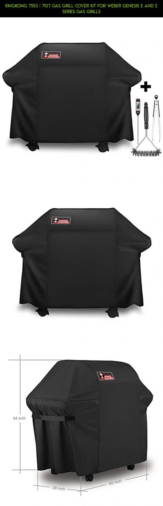 Kingkong 7553 | 7107 Gas Grill Cover Kit for Weber Genesis E and S Series Gas Grills #shopping #plans #technology #parts #under #camera #products #tech #kit #drone #racing #gadgets #fpv #100 #grills