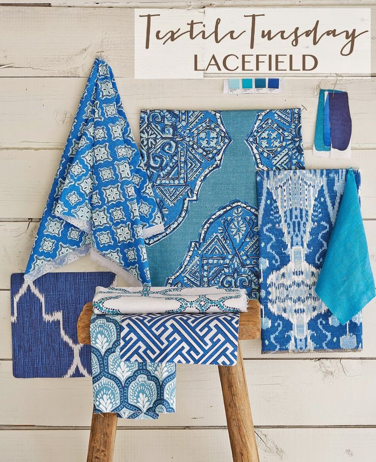Textile Tuesday: New Patterns and Colorways from Lacefield #southernmade #designingwomen #textiledesigner www.lacefielddesigns.com