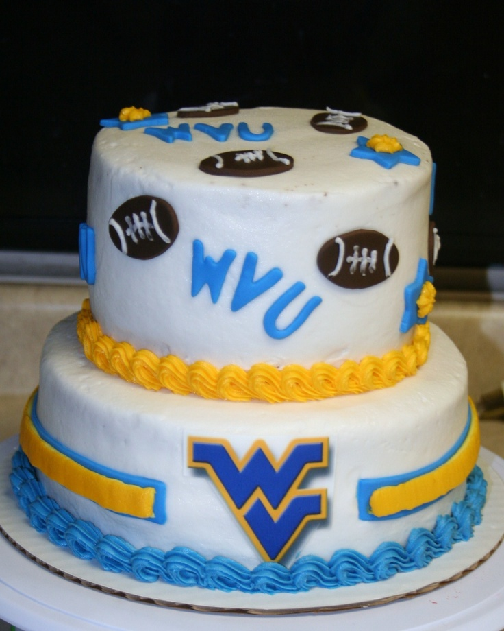 Wvu Birthday Cake