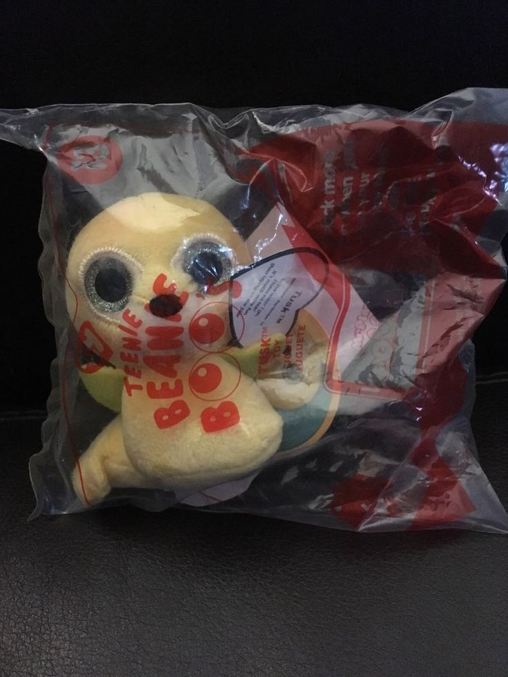 TY TEENIE BEANIE BOOS #13 TUSK MCDONALDS HAPPY MEAL TOY  | eBay