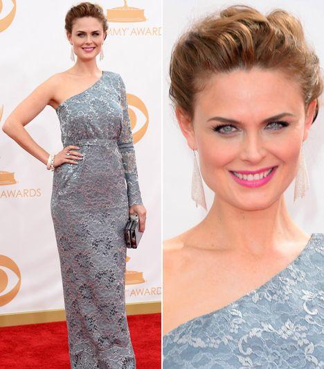 A 2013-as Emmy-gála legdögösebb sztárjai - Emily Deschanel | femina.hu
