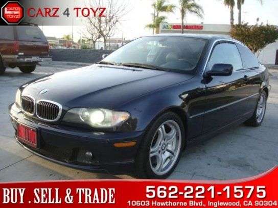 Coupe 2004 Bmw 330ci Coupe With 2 Door In Inglewood Ca 90304