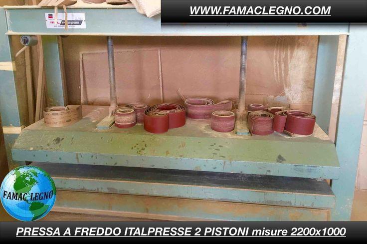 Pressa ITALPRESSE A FREDDO 2 pistoni