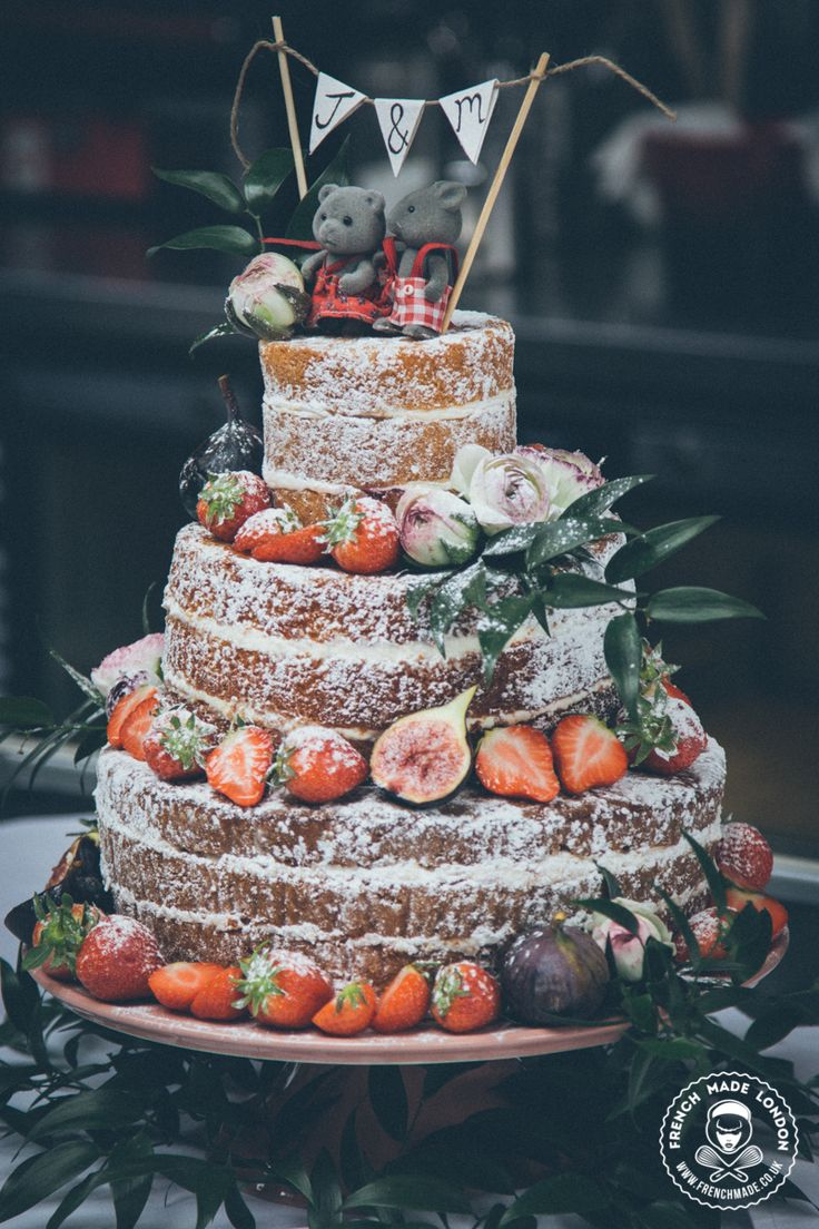 Cake By Http Www Frenchmade Co Uk Rustic