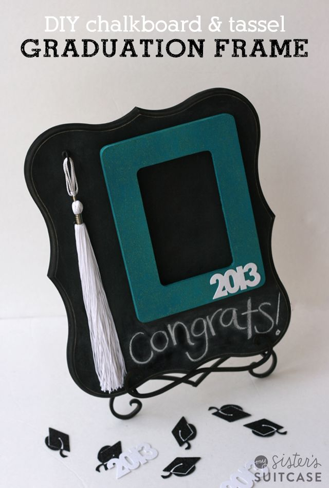 900 best graduation party ideas images on pinterest grad parties diy graduation gift chalkboard tassel frame my sisters suitcase packed with creativity solutioingenieria Gallery