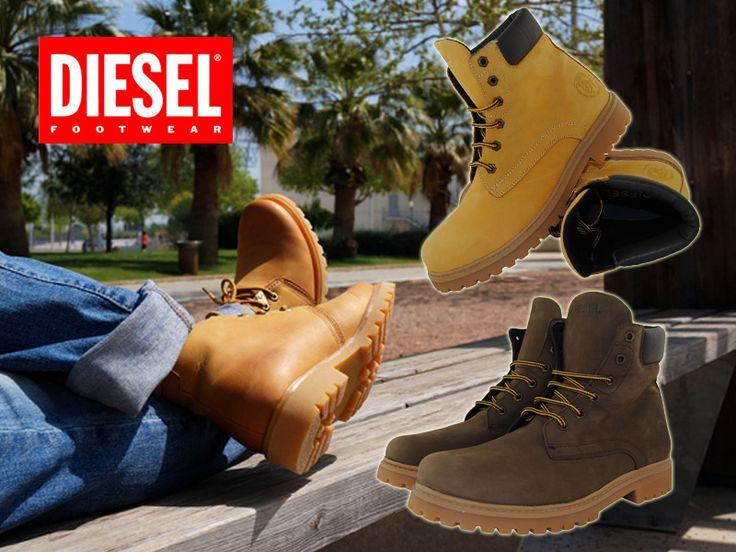 La última moda en botines para hombre de Diesel | Blog de zapatos y tendencias +Kezapatos