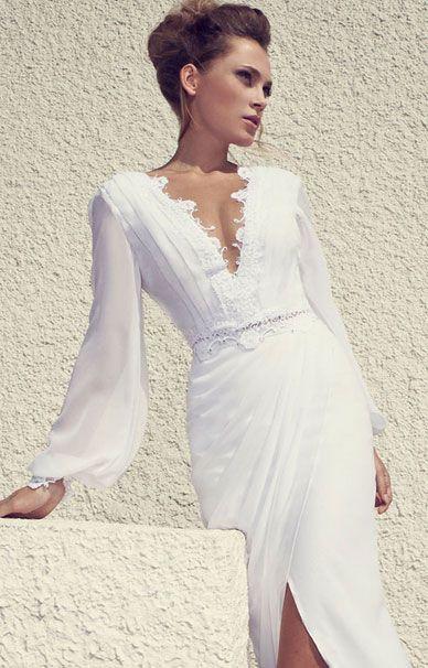 Свадебные платья Julie Vino с длинными рукавами | смотреть фото цены купить