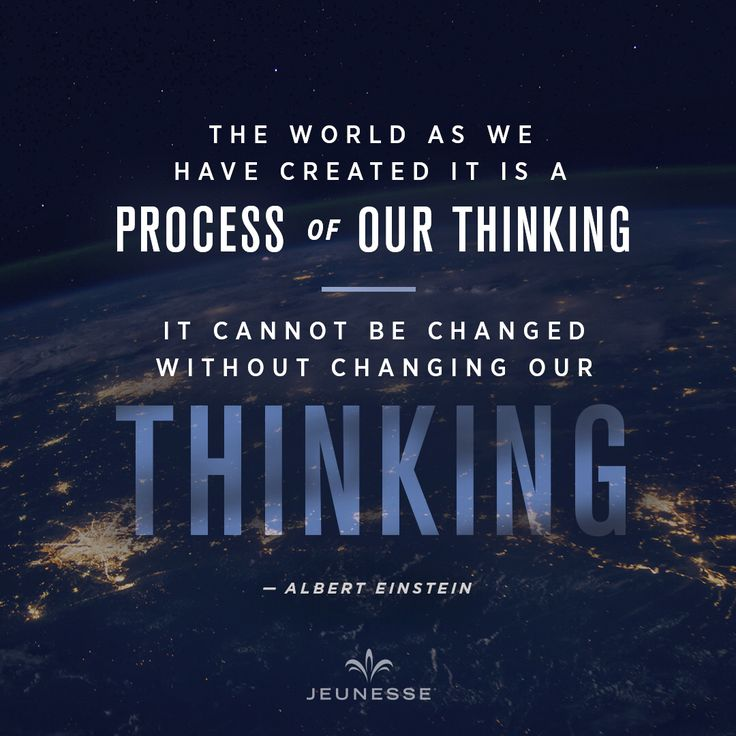 The world as we have created it is a process of our thinking, it cannot be changed without changing our thinking.  - Albert Einstein https://amroud.jeunesseglobal.com/en-US/