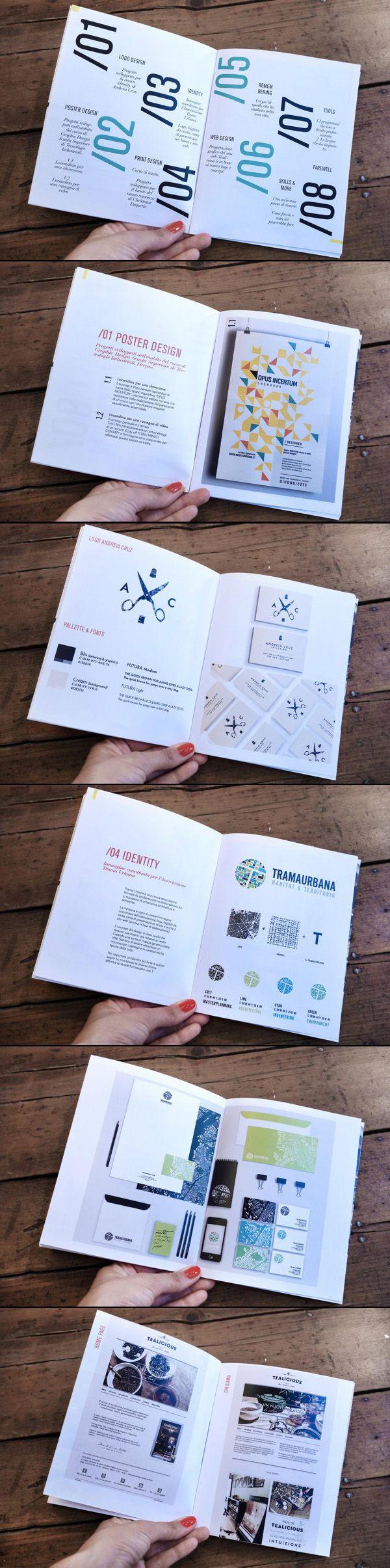 Paula Del Mas #print portfolio book