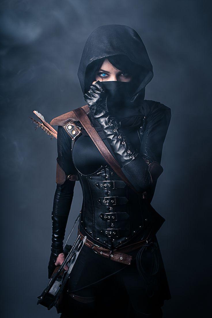 Female Garrett of Thief by Lyz Brickley