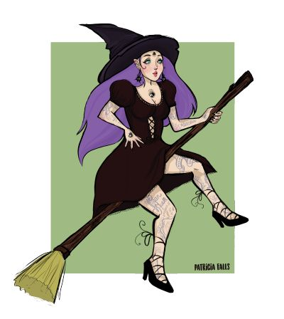 my witchy :3