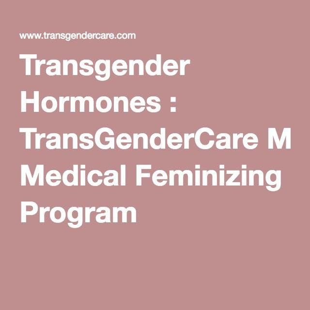 Transgender Hormones : TransGenderCare Medical Feminizing Program