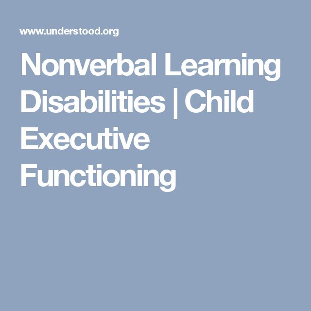 nonverbal learning disabilities essay I've written about my nonverbal learning disability in some depth in a previous essay, but i didn't explore the effects on my athletic ability in much detail somehow, i just [] leave a reply cancel reply.