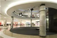 Galleria Mall circular bulkheads using Jumbo Plasterboards.