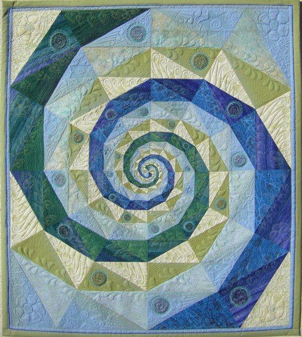 """Rondo Romantico"" by Martha Roggli.  Featured at the Bernina blog."