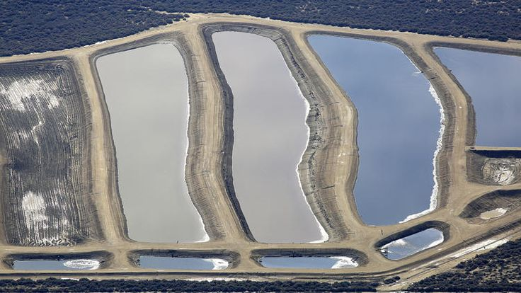 California: Water officials in Kern County discovered that oil producers have been dumping chemical-laden wastewater into hundreds of unlined pits that are operating without proper permits...one-third of the region's active disposal pits are operating without permissiom...water quality concerns in a region where agricultural fields sit side by side with oil fields and where California's ongoing drought has made protecting groundwater supplies paramount.