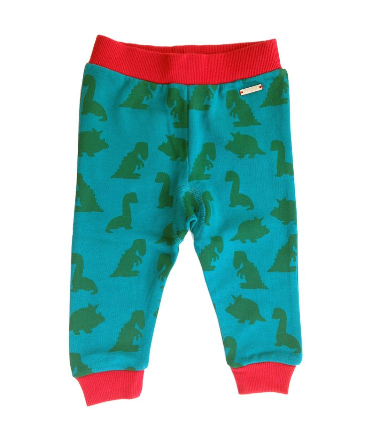 Super soft brushed organic cotton green sweatpants with dinosaur print, back pocket and wooden logo badge.  100% organic cotton - fuzzy and warm for winter.  Unisex regular fit with low crotch for nappy space.  Sweatpants are packaged in gift box making for a perfect gift!  PIPI & PUPU ki...