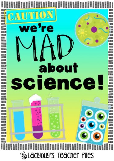 Genius image with printable mad science sign