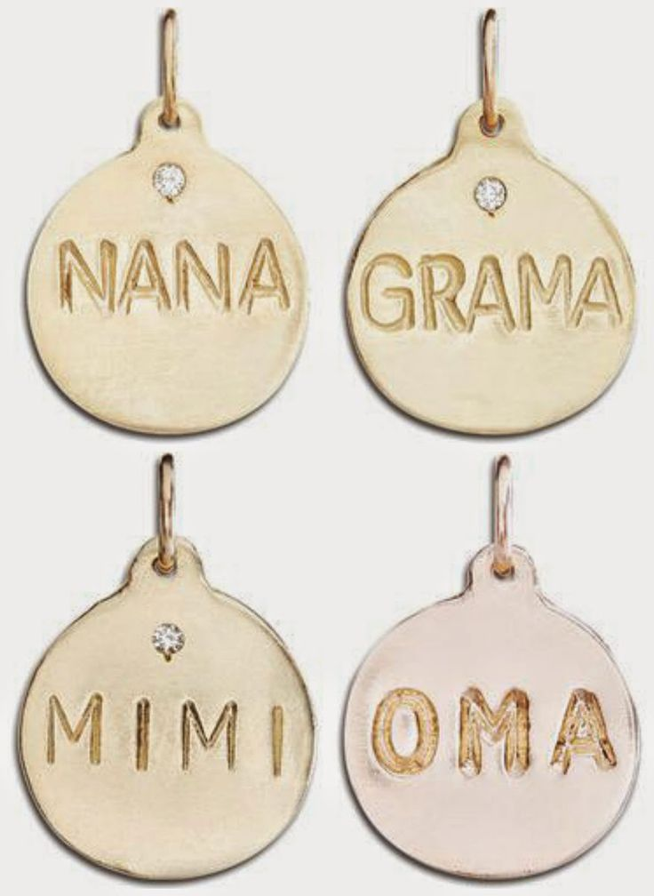 My mom is Mimi, so that would be perfect for her, and the pink gold is so pretty! : the perfect gift for mom